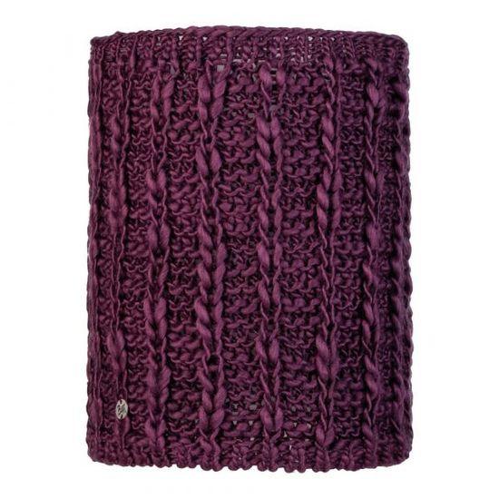 BUFF® Comfort Liv Dahlia neckwarmer, pleten, vijoličen