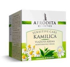 Kozmetika Afrodita Kamilica, hidratantna krema, za osjetljivu kožu, 50 ml