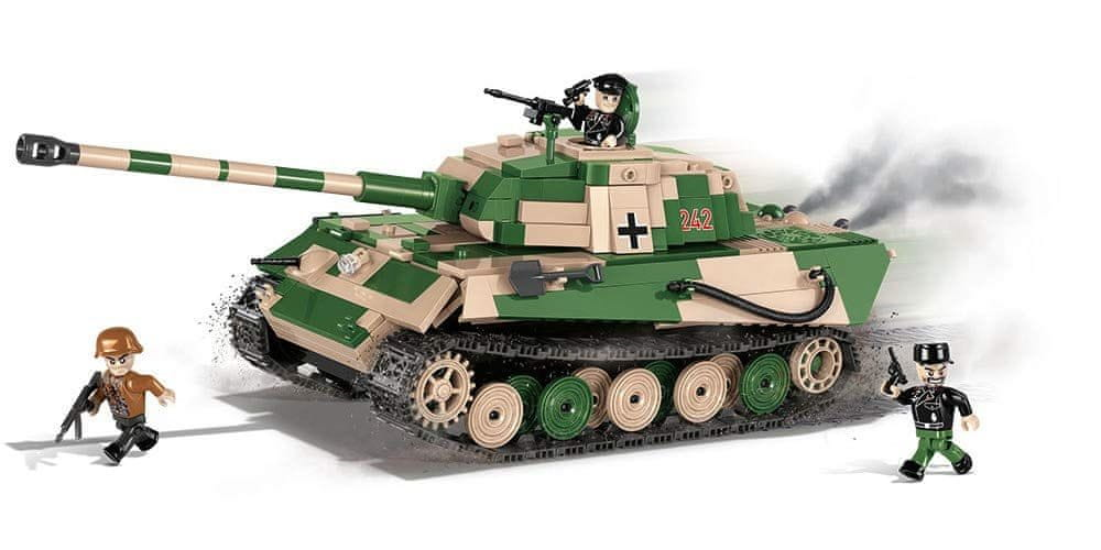 Cobi 2480 SMALL ARMY II WW PzKpfw VI Tiger II