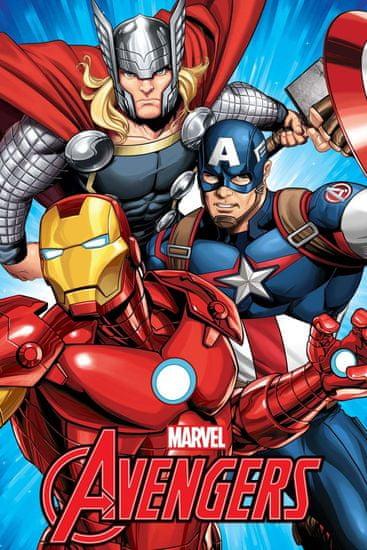 Jerry Fabrics Fleecová deka Avengers