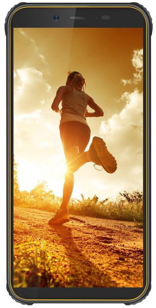 iGET Blackview BV5500 Pro, 3GB/16GB, Yellow