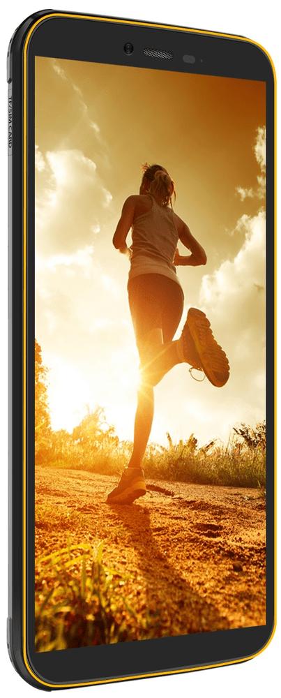 iGET Blackview BV5500 Pro, 3GB/16GB, Yellow - použité