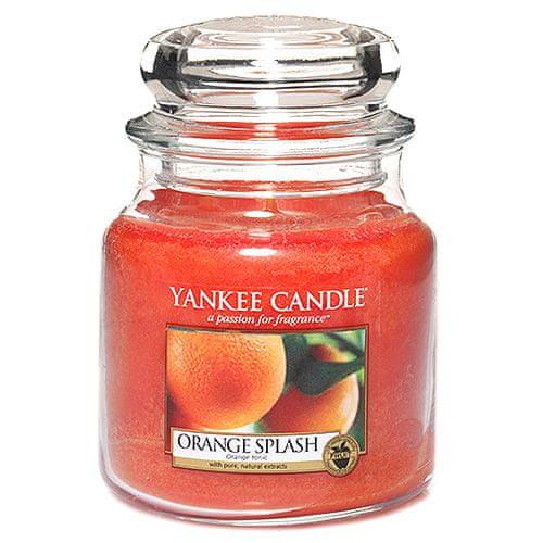 Yankee Candle Svíčka ve skleněné dóze , Pomerančová šťáva, 410 g
