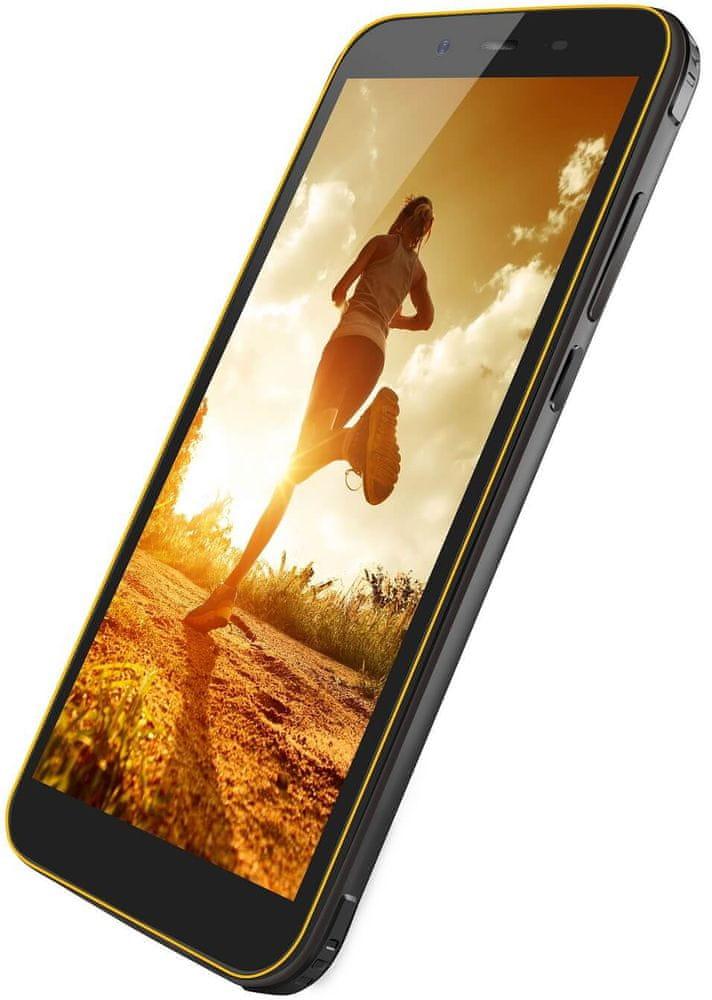 iGET Blackview BV5500 Pro, 3GB/16GB, Yellow - zánovní