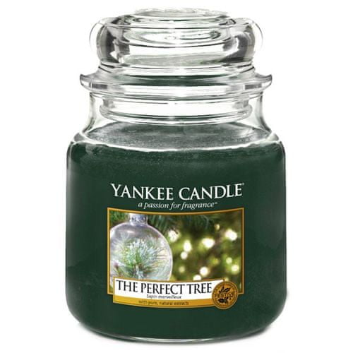 Yankee Candle Svíčka ve skleněné dóze , Dokonalý stromek, 410 g