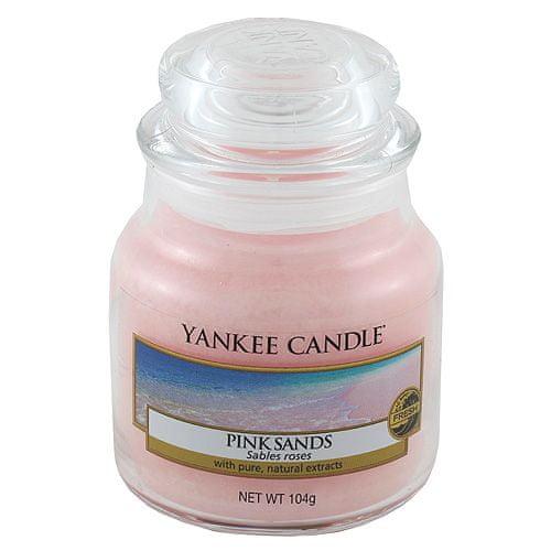 Yankee Candle Svíčka ve skleněné dóze , Růžové písky, 104 g