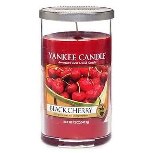 Yankee Candle Svíčka ve skleněném válci , Zralé třešně, 340 g
