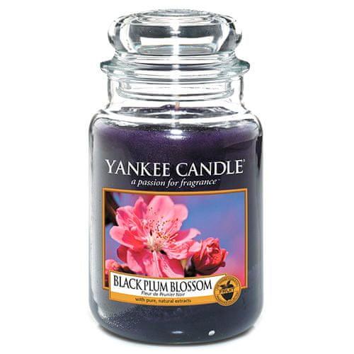 Yankee Candle Svíčka ve skleněné dóze , Květ černé švestky, 623 g