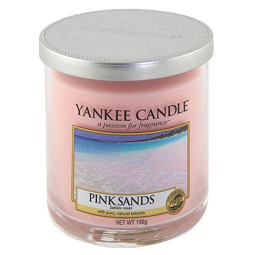 Yankee Candle Svíčka ve skleněném válci , Růžové písky, 198 g