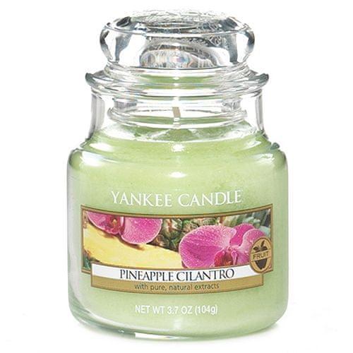 Yankee Candle Svíčka ve skleněné dóze , Ananas s koriandrem, 104 g