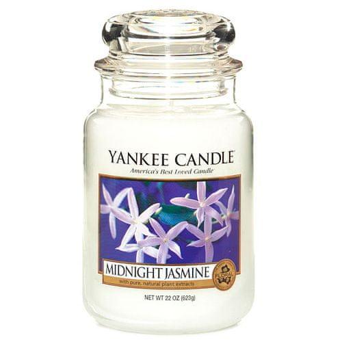 Yankee Candle Svíčka ve skleněné dóze , Půlnoční jasmín, 623 g