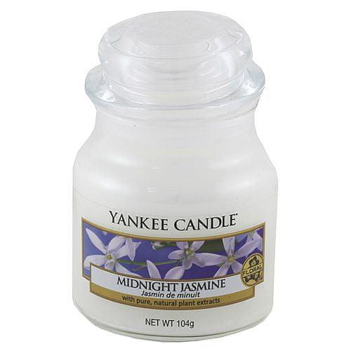 Yankee Candle Svíčka ve skleněné dóze , Půlnoční jasmín, 104 g