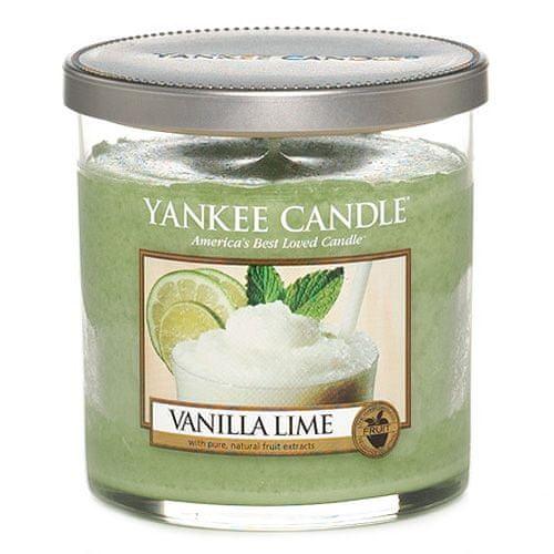Yankee Candle Svíčka ve skleněném válci , Vanilka s limetkami, 198 g