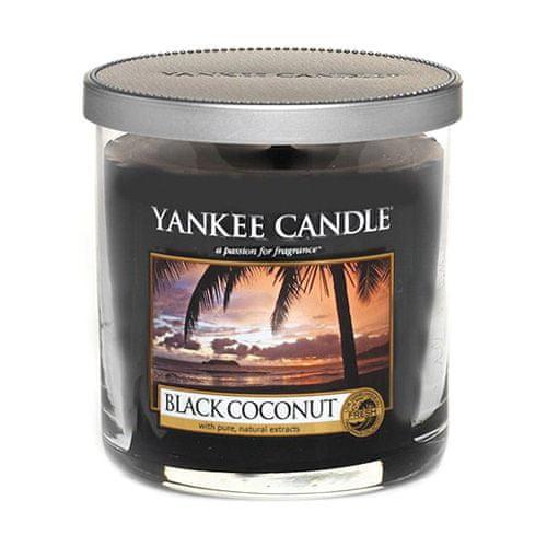 Yankee Candle Svíčka ve skleněném válci , Černý kokos, 198 g