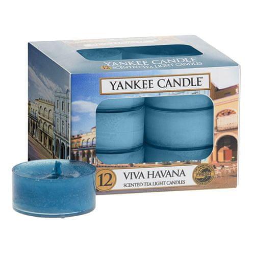 Yankee Candle Svíčky čajové , Ať žije Havana, 12 ks