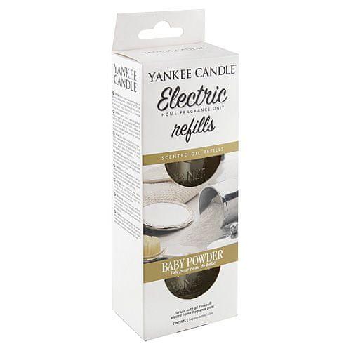 Yankee Candle Náplně do osvěžovače , Dětský pudr, 2x18.5 ml
