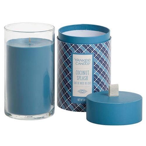 Yankee Candle Svíčka ve skleněném válci , Kokosové osvěžení, 340 g