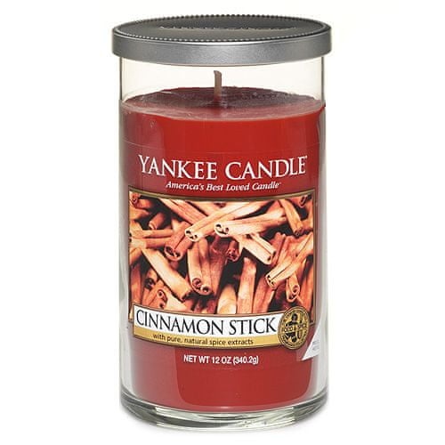 Yankee Candle Svíčka ve skleněném válci , Skořicová tyčinka, 340 g
