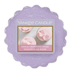 Yankee Candle Vonný vosk , Sladká ranní růže, 22 g