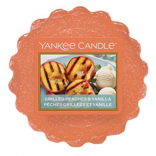 Yankee Candle Yankee gyertya, Grillezett őszibarack és vanília, 22 g
