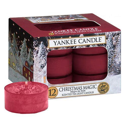 Yankee Candle Svíčky čajové , Vánoční kouzlo, 12 ks