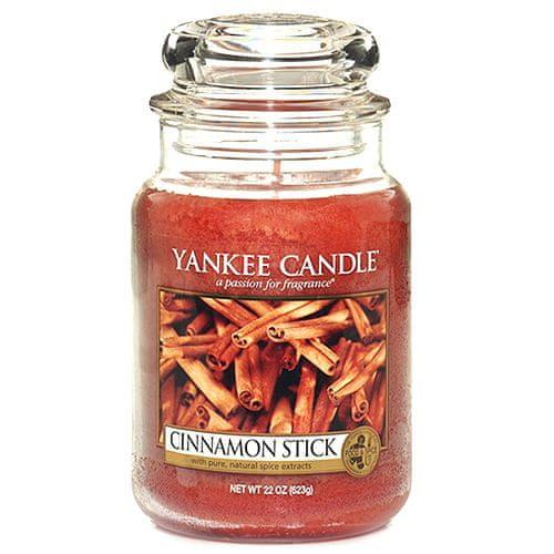 Yankee Candle Svíčka ve skleněné dóze , Skořicová tyčinka, 623 g