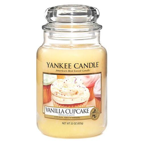 Yankee Candle Svíčka ve skleněné dóze , Vanilkový košíček, 623 g