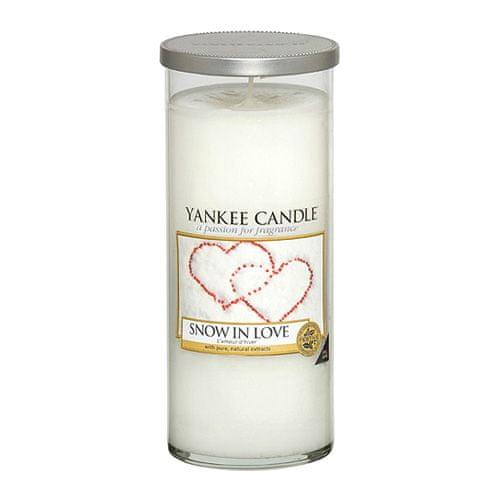 Yankee Candle Svíčka ve skleněném válci , Zamilovaný sníh, 538 g
