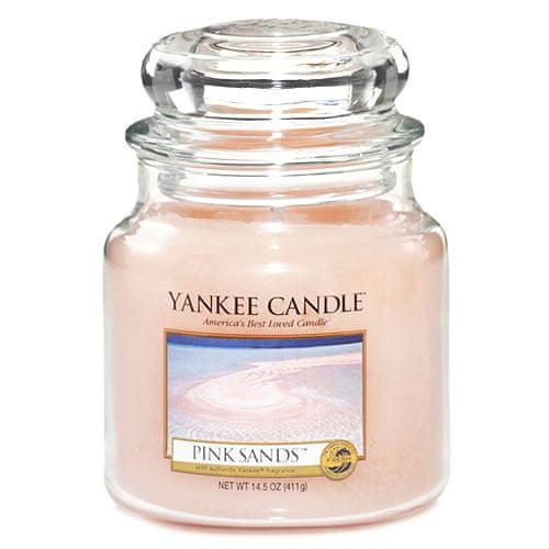 Yankee Candle Svíčka ve skleněné dóze , Růžové písky, 410 g