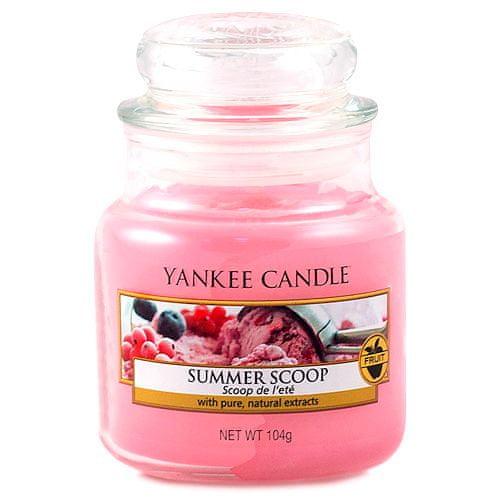 Yankee Candle Gyertya egy üvegedénybe a Yankee gyertyát, Kanál nyári fagylalt, 104 g