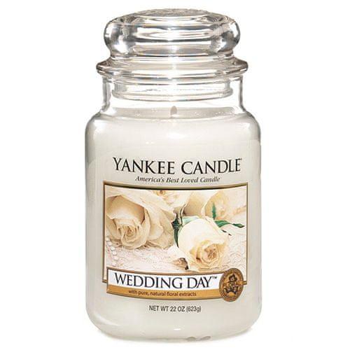 Yankee Candle Svíčka ve skleněné dóze , Svatební den, 623 g