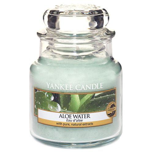 Yankee Candle Svíčka ve skleněné dóze , Voda s Aloe, 104 g