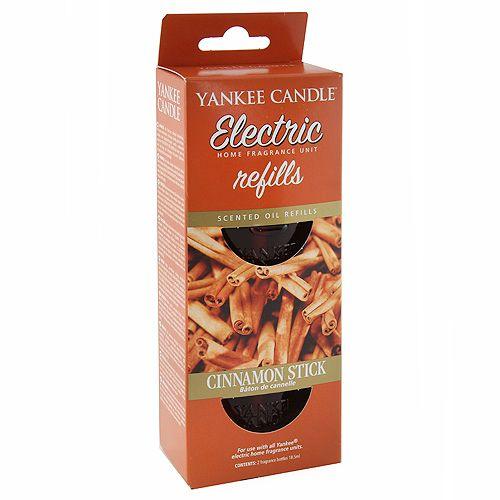 Yankee Candle Náplně do osvěžovače , Skořicová tyčinka, 2x18.5 ml