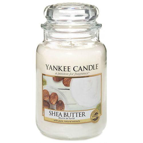 Yankee Candle Svíčka ve skleněné dóze , Bambucké máslo, 623 g
