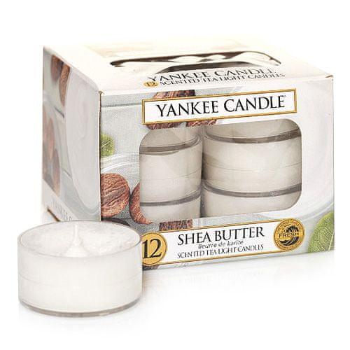 Yankee Candle Čajne sveče , Bambusovo maslo, 12 kosov