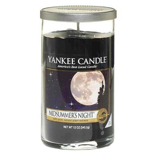 Yankee Candle Svíčka ve skleněném válci , Letní noc, 340 g