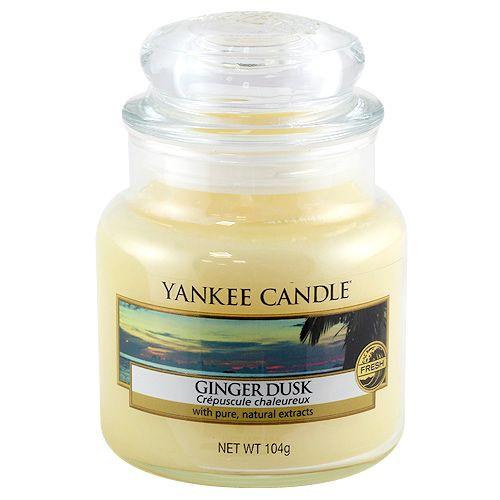 Yankee Candle Svíčka ve skleněné dóze , Zázvorový soumrak, 104 g