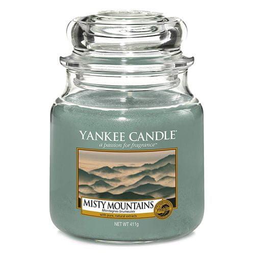 Yankee Candle Svíčka ve skleněné dóze , Mlžné hory, 410 g