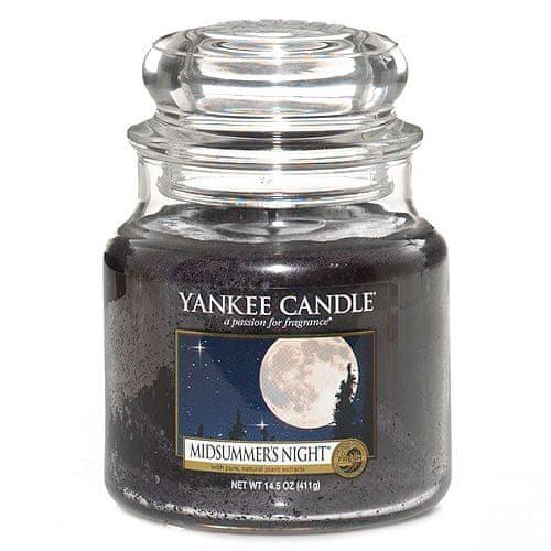 Yankee Candle Svíčka ve skleněné dóze , Letní noc, 410 g