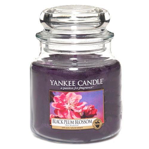 Yankee Candle Svíčka ve skleněné dóze , Květ černé švestky, 410 g