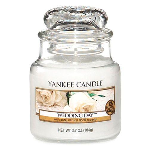 Yankee Candle Svíčka ve skleněné dóze , Svatební den, 104 g
