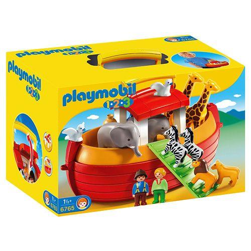 Playmobil Noemova archa , Přenosná Noemova Archa 1.2.3