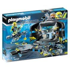 Playmobil Řídící středisko Dr. Dronea , TOP agenti, 100 dílků