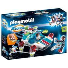 Playmobil FulguriX z agentom Gene , Super 4, 45 kosov