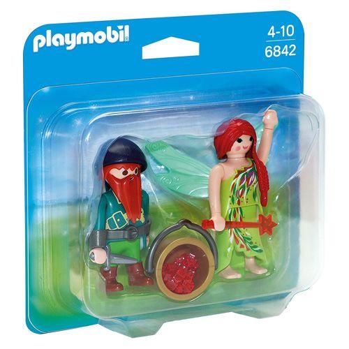 Playmobil Duo Pack Fairy törpe -nal, Tündérek és egyszarvúak, 12 darab
