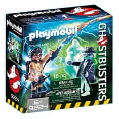 Playmobil Dr. Spengler in duh a, Ghostbusters, 20 kosov