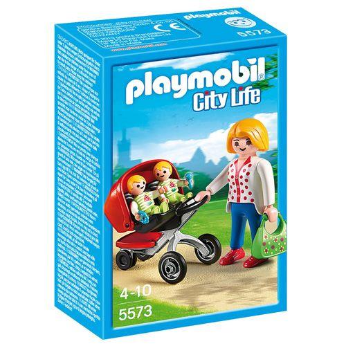 Playmobil Kočárek pro dvojčata , Mateřská škola