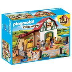 Playmobil pony farm, Jahalno dvorišče, 80 kosov