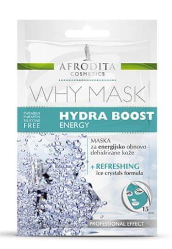 Kozmetika Afrodita Why Mask Hydra Boost Energy maska, 2x 6 ml