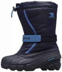 Sorel Youth Flurry otroški zimski čevlji, 1, temno modri